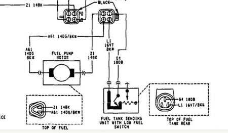 170934_fuel_pump_sender_unit_1 1992 dodge caravan fuel pump and fuel level sending unit airtex fuel pump wiring diagram at bakdesigns.co