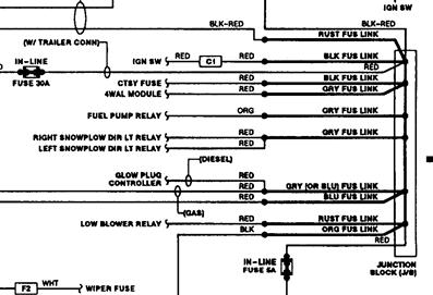 1993 chevy truck junction block wiring on fire wall rh 2carpros com free 1993 chevy silverado wiring diagram 1993 chevy silverado radio wiring diagram