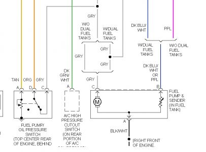 1996 chevy truck fuel pump relay: i changed my fuel pump ... 1996 chevy silverado fuel pump wiring diagram #1