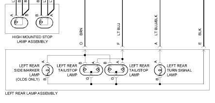 1999 chevy malibu turn signals brake lights i have done. Black Bedroom Furniture Sets. Home Design Ideas