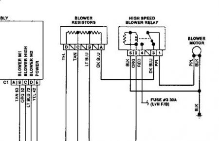 Park Avenue Blower Relay