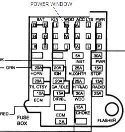 1985 chevy blazer power windows electrical problem 1985. Black Bedroom Furniture Sets. Home Design Ideas