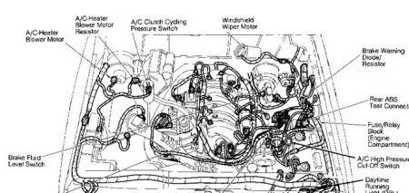 1994 Ford Ranger Blower Motor Resister Blower Only Blows On