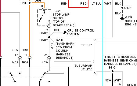 1998 chevy 1500 brake light wiring diagram 1998 chevy tahoe no brake lights on tahoe, page 2 1998 chevy tahoe brake switch wiring diagram
