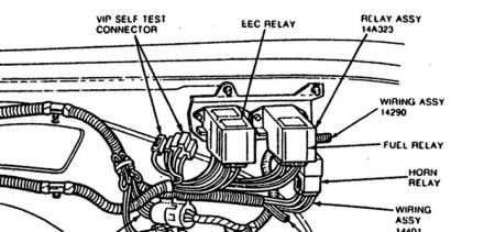 wiring diagram for 1993 ford festiva 93 lincoln continental blower relay location 93 free