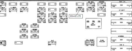 170934_underhood_brake_fuse_1 2000 saturn sl1 no tail lights or brake lights,backup light 2000 saturn sl1 fuse box diagram at readyjetset.co