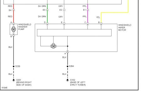 1998 buick century windshield washer pump: electrical ... 1986 buick century wiring diagram #14