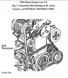 3400 V6 Engine Diagram
