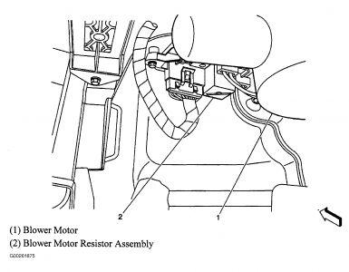 06 Trailblazer Blower Motor Resistor Wiring Diagram 06 Trailblazer