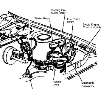 Acura Legend Fan Relay Location also 2012 Highlander Wiring Diagram besides 87 Chevy Camaro Coolant Temp Sensor Location as well 89 Corvette Fuse Box additionally Electric Fan Temperature Switch Location. on corvette cooling fan relay location