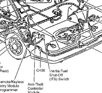 97 Mustang Fuel Pump Relay Location on 2004 crown victoria fuse box diagram