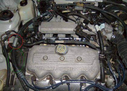 1998 Mercury Tracer Rough Idle, New A/C Compressor