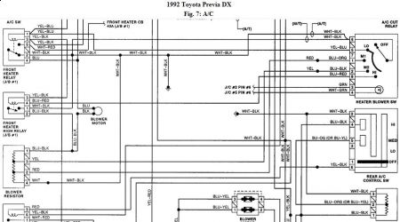192750_ACWiring92Previa01b_1 1992 toyota previa ac switch problem? air conditioning problem House AC Wiring Diagram at reclaimingppi.co