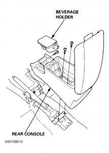 2006 Honda Accord Sedan >> 1996 Honda Accord Center Console/Dash: I Need to Get to My ...