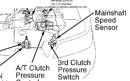 Accord Transmission Speed Sensor Category Transmission Speed Sensor on 1999 honda cr v o2 sensor location