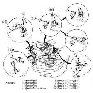 Honda Accord Motor Mount Diagram Not Lossing Wiring Diagram
