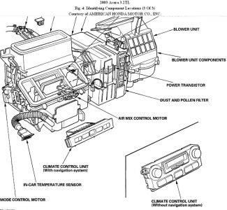 ac blows hot air conditioning problem 6 cyl front wheel drive Acura CL Coupe 2003 acura cl wiring diagram