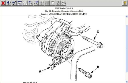 2006 Honda Civic Belt Diagram
