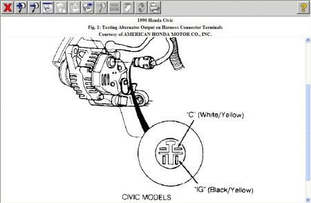 honda 4 wire alternator diagram auto electrical wiring diagram u2022 rh 6weeks co uk