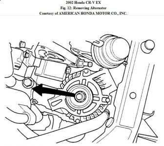 Http Www 2carpros Forum Automotive Pictures 192750 Alternatorrepalcement02crvfig12 1