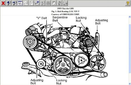 2000 Chrysler 300m Starter Location on international 4700 fuse diagram 1998