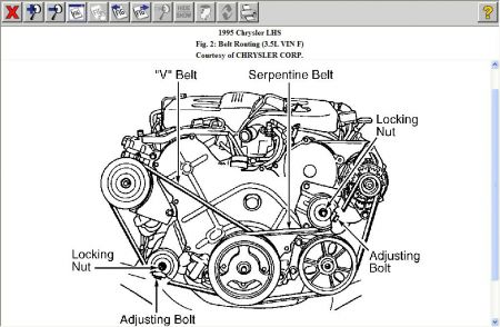 1995 Dodge Intrepid Starter Wiring Diagram on 1999 chrysler 300m wiring harness