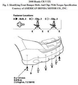 front bumper removal i want to know to how to remove the front Ford Focus Front Bumper Diagram www 2carpros com forum automotive_pictures 192750_bumperfrt08crvfig01_1
