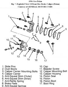 Geo Prizm 1996 Geo Prizm 11 on Geo Prizm Steering Diagram