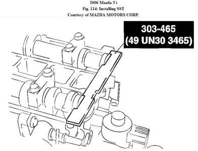 2006 Mazda 3 TIMING CHAIN/BELT JUMP???: Engine Mechanical