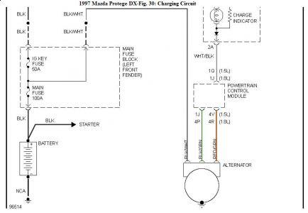 [ZSVE_7041]  1997 Mazda Protege Battery Wont Hold a Charge   Mazda Protege Alternator Wiring Diagram      2CarPros
