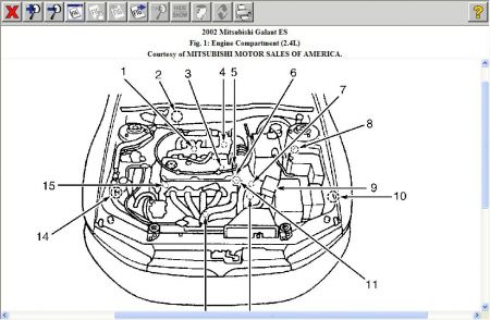 2000 Ford Focus Serpentine Belt Diagram on wiring diagram mitsubishi galant v6