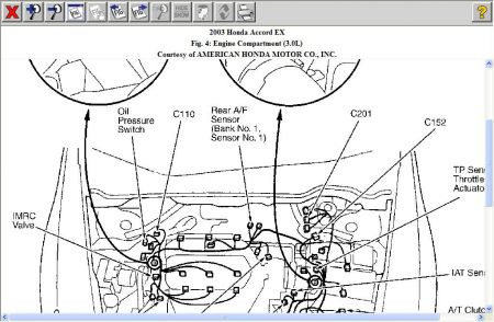 Isuzu Rodeo 2001 Isuzu Rodeo Question Idles High together with 97 Ford F 150 4 6 Engine Diagram further Honda Accord 1997 Honda Accord Where Is The Coolant Temperature Sensor 1 likewise Camshaft Position Location Tool in addition Ford Taurus 2002 Ford Taurus Crankshaft Sensor. on honda 2 4 knock sensor location