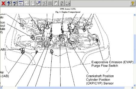 T5731245 In 2008 jeep grand likewise Dodge Journey Thermostat Location further T13200996 Location knock sensor 98 honda civic v as well 2006 Chevy Impala 3 5 Belt Routing Diagram furthermore Clean Beige Acura2000good Deal City. on honda accord wiring diagram 2013