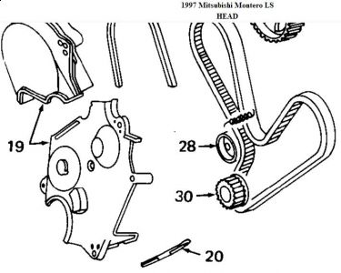 1997 mitsubishi montero crankshaft position sensor ring