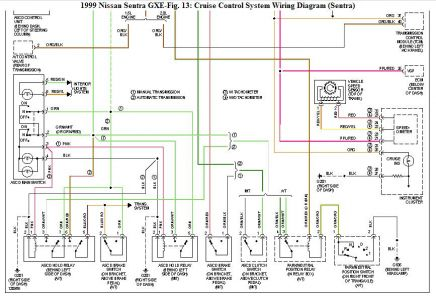 192750_CruiseControlSchematicSentraFig13b_1 1999 nissan sentra cruise control electrical problem 1999 nissan nissan sentra electrical diagram at bayanpartner.co