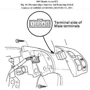 2005 honda accord ex l v6 cruise control assembly wrong one rh honda tech com Cruise Control Vacuum Diagram Cruise Control Vacuum Diagram