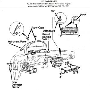 91 Civic Hatchback Wiring Diagram