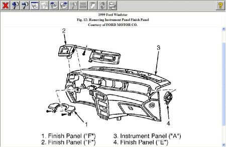 T3425271 Fuse box diagram 1992 e150 econoline additionally 97 Ford F 150 Fuse Locations And Diagrams likewise Ignition Control Module Location 94 Chevy S10 moreover Ford Windstar 2002 Ford Windstar 60 further 1994 Ford Probe Fuse Box Diagram. on 1999 ford windstar fuse box diagram