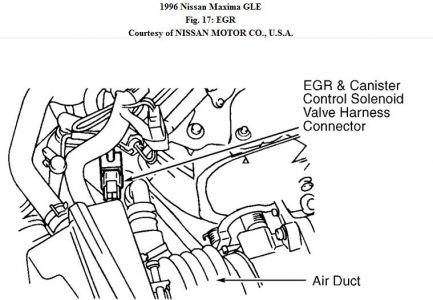 192750_EGR96MaximaFig17_2 1996 nissan maxima engine mechanical problem 1996 nissan maxima 6 1996 nissan maxima fuse box diagram at panicattacktreatment.co
