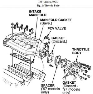 192750_EGR97AcuraCLV6Fig02_1 1997 acura cl egr valve engine mechanical problem 1997 acura cl 6 97 Honda Prelude Wiring Diagram at bayanpartner.co