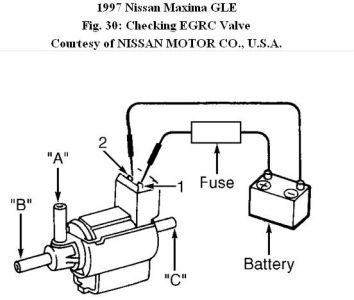 nissan xterra engine wiring diagram with Nissan Maxima 1997 Nissan Maxima P1400 Egr Control Solenoid Problem on T24701678 01 honda crv knock sensor also Chrysler 2 7l Engine Wiring Diagram further 1997 Infiniti Qx4 Wiring Diagram And Electrical System Service And Troubleshooting additionally Nissan Rogue Starter Location likewise Nissan Versa Fuse Box Location.