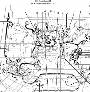 2000 Toyota Camry Engine Diagram Wiring Diagram Library