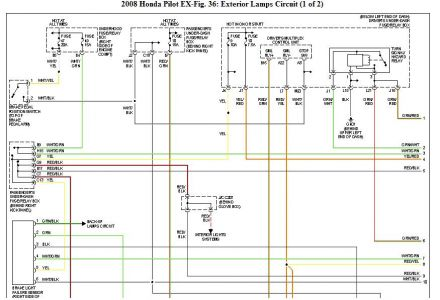 2009 Honda Pilot Trailer Wiring Harness: Electrical ...