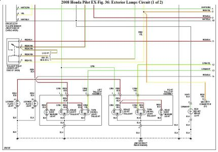 192750_ExLight08Pilot102b_1 2009 honda pilot trailer wiring harness electrical problem 2009 2008 Honda Pilot Engine Diagram at bayanpartner.co