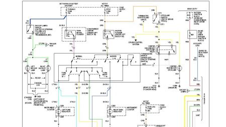 192750_ExteriorLightsGMC94K1500a1_1 1994 gmc truck wiring diagram detailed schematics diagram