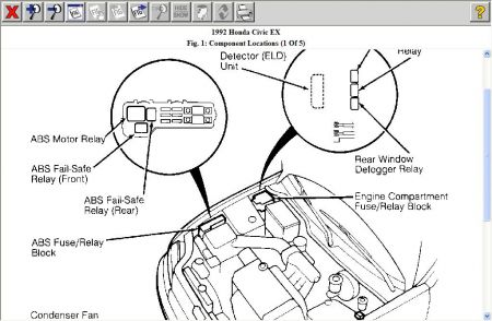 Failsafe Civicmitchell together with Need Fuse Cover Under Dash Civic Diagram Pertaining To Honda Civic Fuse Box Diagram besides C Ef E additionally Fuse Box Diagram For Honda Civic A C Cb Da F E E F as well Fusebox Hooddiagram. on 92 civic fuse box diagram