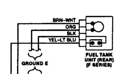 Ford Fuel Pump Connector Wiring Wiring Diagrams Source
