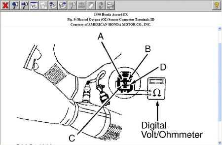 192750_HO2S90Accord_1 1990 honda accord engine performance problem 1990 honda accord 4 1999 Bmw 328I Wiring Diagram at n-0.co