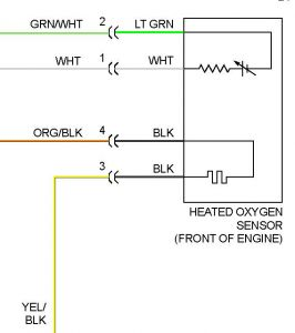 Honda 4 Wire O2 Sensor Wiring Diagram - Wire Diagram Here on