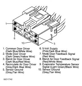 Chrysler Lhs 1995 Chrysler Lhs Module Climate Control on wiring diagram for hvac